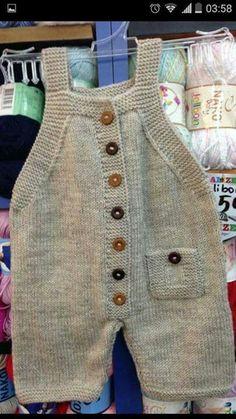 65 New Ideas For Crochet Baby Pants Pattern Kids Baby Dungarees Pattern, Baby Pants Pattern, Baby Overalls, Romper Pattern, Baby Knitting Patterns, Baby Boy Knitting, Knitting For Kids, Baby Patterns, Free Knitting