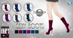 Jom Sims Creations: New boots • Sims 4 Downloads