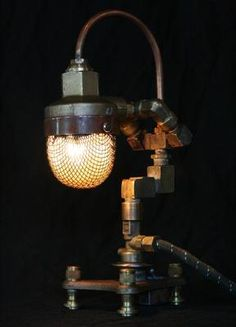 Steampunk Art Lamps