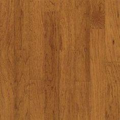 "Turlington American Exotics Hickory - Bruce Hardwoods 3/8 x 5"" Color: Tequila Georgia Carpet Industries"