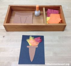 Winter Olympics/ cute craft for art/ love the nail polish bottle for glue!