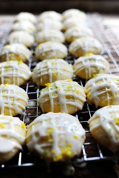 Citrus Butter cookies - lemon, lime, and orange all mixed together to make one delicious cookie