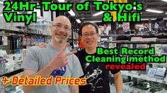 Tokyo Vinyl hifi+ accessories PRICES! + Best Record Cleaning method (bet...