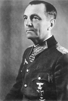 "Field Marshal Friedrich Wilhelm Ernst Paulus led the 6th Army to its destruction at Stalingrad.  After the war he lived in comfort in East Germany and died in 1957, a scorned man by his former subordinates and men who survived the Stalingrad catastrophe.  As a Field Marshall, he was expected to commit suicide rather than surrender. Shortly before his surrender he said ""I'm not dying for that Bohemian Corporal"" meaning Hitler Pinned by HistorySimulation.com"