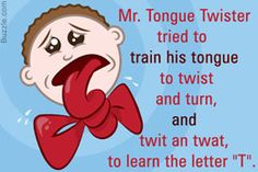 Tongue twisters for adults