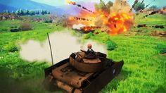 Girls und Panzer: Dream Tank Match announced for PS4
