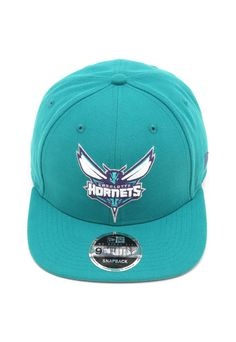 Boné New Era Snapback Charlotte Hornets Azul 353627059f7
