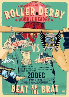 Roller Derby Posters on Behance