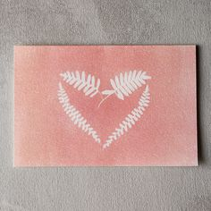 Fern Heart Valentine by Wyldcraft Gift Co. from terrain