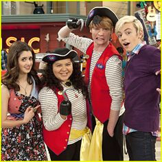 AAAARRRRR ME HEARTIES!!! Austin and Ally goes pirate. With Raini Rodriguez, Laura Marano and Ross Lynch.