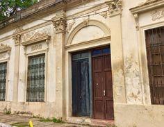 Fachada antigua .Asuncion -Paraguay