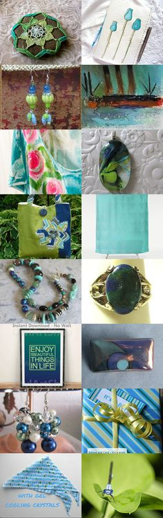 Shades of the sea - Integrity SOTW and WW by Graciela Gacek on Etsy--Pinned+with+TreasuryPin.com