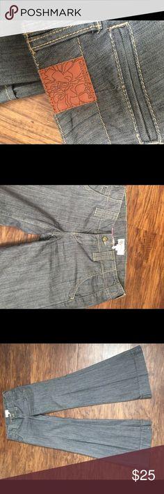 "BCBGeneration wide leg pants BCBGeneration wide leg pants. 33"" inseam.  100% cotton BCBGeneration Jeans Flare & Wide Leg"