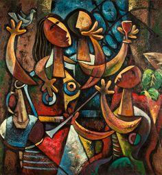 Mario Carreño y Morales (Cuban, 1913 – 1999) - Festin, 1947