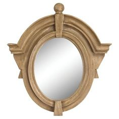 Check out this item at One Kings Lane! Gayle Wall Mirror, Brown