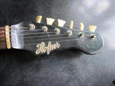 Höfner E-Gitarre aus Nachlass, Bj. Anfang 1960, sehr schöner orig in Nord - Hamburg Barmbek | Musikinstrumente und Zubehör gebraucht kaufen | eBay Kleinanzeigen