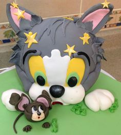 Tom and Jerry - Inspired by Debbie Brown — Children's Birthday Cakes
