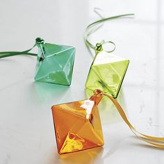 diamond ornaments  | CB2