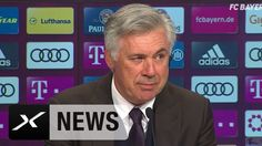 Carlo Ancelotti über Gladbach-Sieg und Costa-Selfie | FC Bayern München ...