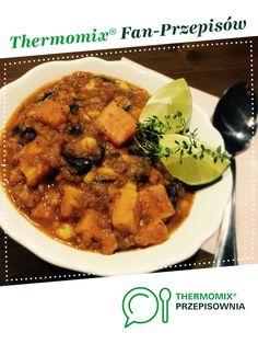 Meksykańskie Wege Chilli jest to przepis stworzony przez użytkownika margaretta123. Ten przepis na Thermomix® znajdziesz w kategorii Dania główne z warzyw na www.przepisownia.pl, społeczności Thermomix®. Chilli, Calzone, Pizza, Chicken, Meat, Kitchen, Recipes, Food, Thermomix