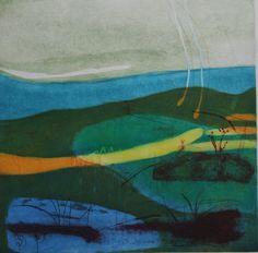 Louise Davies   Sea Breeze   Printmaker