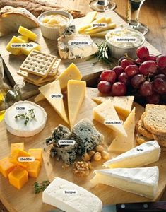 This is a collection of some of my favorite recipes that I've salivated over for the last few months. Wine Cheese, Cheese Platters, Food Platters, Dinner Party Recipes, Appetizer Recipes, Appetizers, Beer Recipes, Cheese Recipes, Cheese Table Wedding