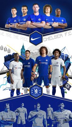 chelsea nike 2017 design by samuel mirpuri for lock screen or poster http://feedproxy.google.com/fashiongoshoes4