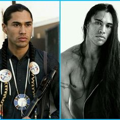 Now this is perfection. #martinsensmeier #beautiful #nativeamerican #longhair