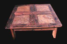 Four-Tile Coffee Table
