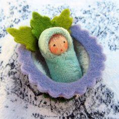 Miniature walnut baby