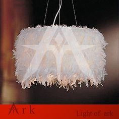 100.00$  Buy now - http://alius5.worldwells.pw/go.php?t=32615242853 - ARK LIGHT COPY DESIGN simplicity creative children bedroom kids room feather E27 chandelier light lamp
