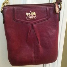 Coach Cross body Great shape but strap needs a little cleaning Coach Bags Crossbody Bags