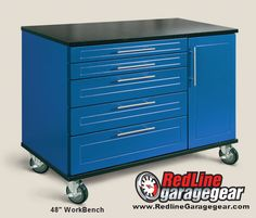 Redline Garage Work Benches are fully customizable to meet your needs.  Go to the WorkBench page of the website for more information  redlinegaragegear...
