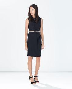 ZARA - WOMAN - JEWELLED BELT DRESS