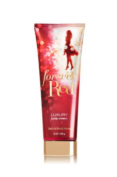 Bath and Body Works Forever Red Luxury Body Cream 8 Ounce Bath Body Works, Bath N Body, Cream Baths, Forever Red, Perfume, Bath And Bodyworks, Fragrance Mist, Body Spray, Smell Good