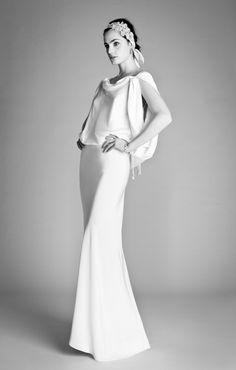 20 Unconventional Wedding Dresses for the Modern Bride via Brit + Co.