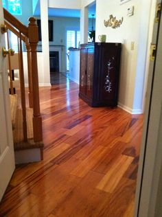 before and after: bellawood brazilian koa! #llcustomers and