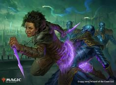 Magic: the Gathering - War of the Sparks Arts Teyo, the Shieldmage - Illustrated by Magali Villeneuve Crush Dissent - Illustrated by Mike Bierek Kaya's Ghostform - Illustrated by Johan Grenier Character Creation, Character Concept, Character Art, Concept Art, Character Design, Black Characters, Fantasy Characters, Female Characters, Dark Fantasy Art