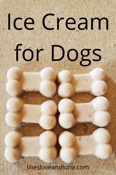 3 ingredient ice cream for dogs is an easy  treat to give your dog on a hot day. Dog Cake Recipes, Dog Treat Recipes, Dessert Recipes, Dog Ice Cream, Dairy Free Ice Cream, 3 Ingredient Ice Cream, Greek Yogurt And Peanut Butter, Best Treats For Dogs, Frozen Dog Treats