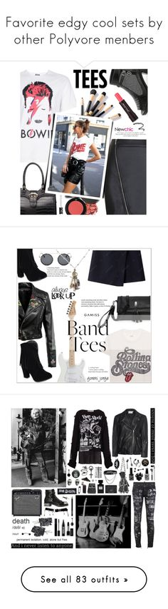 """""""Favorite edgy cool sets by other Polyvore menbers"""" by sunnydays4everkh ❤ liked on Polyvore featuring Topman, MadeWorn, Sweet Romance, Vivienne Westwood, Ayaka Nishi, Versace, Gucci, Ardency Inn, King Baby Studio and Chris Habana"""