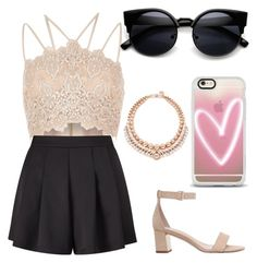 """Untitled #20"" by monkadoodles on Polyvore featuring River Island, Miss Selfridge, Ellen Conde, Carvela and Casetify"