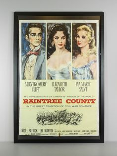 Renew Gallery | Raintree County Poster Starring Elizabeth Taylor