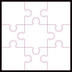 9 piece Jigsaw by Bird