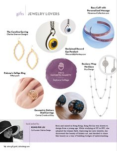 Jewelry Lover's Gifts {Sakina Ramadan/Eid Gift Guide} | Sakina Design