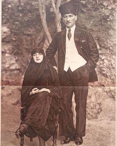 Mustafa Kemal Atatürk ve eşi Latife Hanım