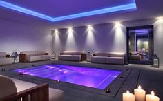 Spa @ La Suite Hotel Procida if only it cam in orange pink and blue