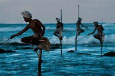 Tipo de pesca no Paquistão e Índia.