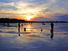 Ice Fishing, love doing this!!
