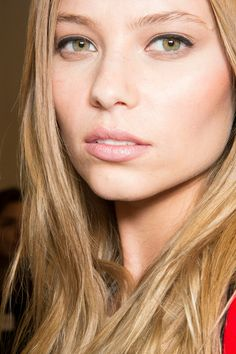 Fausto Puglisi Fall 2014. http://votetrends.com/polls/369/share #makeup #beauty #runway #backstage