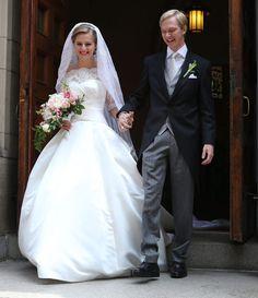 Un mes antes del enlace de Guillermo de Luxemburgo, su familia asiste a una boda real en Washington - Foto 4